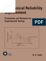 Little, R.E. - Mechanical Reliability Improvement - Probability and Statistics for Experimental Testing [Marcel Dekker 2001]