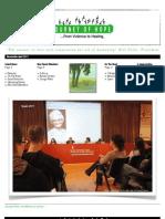 JoH Newsletter April 2011