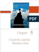 Ch 5-Creativity-and-the-Business-Idea