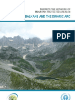 Towards the Network of Mountain Protected Areas in the Balkans and the Dinaric Arc
