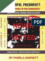 NATURAL Born Citizen Chapter of Never Vetted by Pamela Barnett