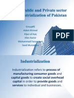 Role of Public and Private sector in industrialization edited