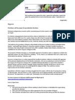 UK Open Doors, Email Alert, April 8, 2011