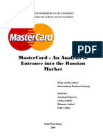 Mastercard assignment