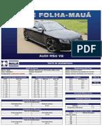 Teste Folha-Mauá - Audi RS5 V8