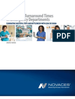Lab Turnaround Times in Emergency Departments