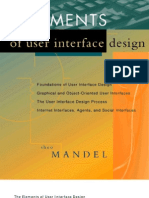 Elements of User Interface Design