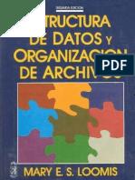 10.- Estructura de Datos y Organización de Archivos