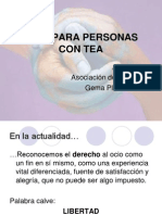 Ocio+Para+Personas+Con+Tea