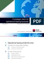 Operational leasing