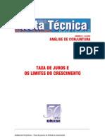 Taxa de juros 2