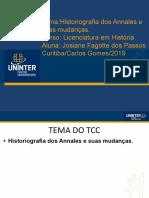 Template Padrão Slides TCC - Licenciatura a Escola Dos Annales (1).PPT