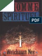 L'homme spirituel°Watchman NEE°489