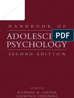 - Handbook of Adolescent Psychology