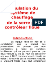 Régulation du système de chauffage  de la serre par contrôleur floue