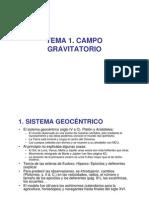 TEMA 1.Gravitacion