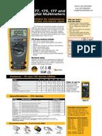 Digital Multi Meter FLUKE 175 177 179