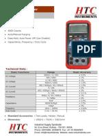 Digital Multi Meter HTC 96