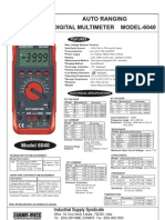 Digital Multi Meter KM 6040