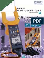 Digital Power Clamp Meter HIOKI 3286