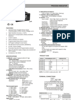 Digital Process Indicator Selectron PIC1000