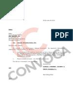 Documentos de Alcogal sobre offshores vinculadas a caso Metro de Lima