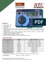 Digital Transistor Tester TT825