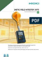 Flux Meter Hioki EMF 3470