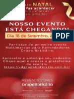 Convite Evento VIPs VDF
