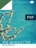IPSF Newsletter #86 - Spring Blossom