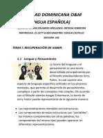 Lengua Española o&m 27-09
