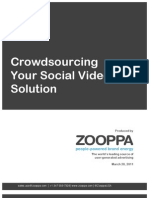 Crowdsourcing Your Social Video Solution