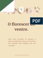 ebook - O FLORESCER DO VENTRE - WK LIMPEZA UTERINA