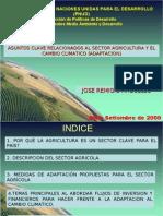 Agricultura y Cambio Climatico j Remigio Foro Internacional