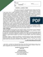 APOSTILA - SETEMBRO 2021 - POLÍTICA