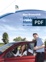 New Brunswick Drivers Handbook