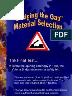 Pwr Pt Science Bridge Gap Materials