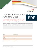 Formation Technique CARTHAGO Atelier 2