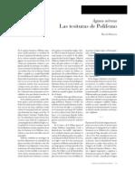 Las tesituras de Polifemo
