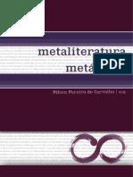 Nilson Pereira de Carvalho (Org.) - Metaliteratura e Suas Metáforas - UFRPE, 2017