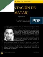 TENTACIóN DE MATAR