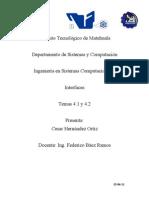 Tema 4.1 y 4.2 Interfaces