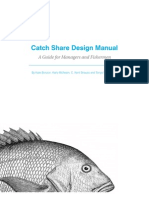 Catch Share Design Manual  A Guide for Managers and Fishermen