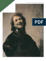 E van de Wetering Rembrandt laughing in Kroniek van het Rembrandthuis june 2008 (1)