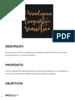 Tema 2 Paradigma Linguístico Semiótico