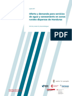 informe_estudio_oferta_y_demanda_AGUa en zonas rurales HONDURAS