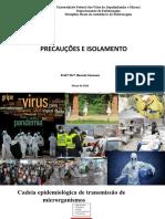 Aula Precauçao_2020 UFVJM