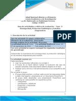 Guía de actividades y rúbrica de evaluación - Unidad 2 - Caso 3 - Bioseguridad, Protección Radiológica y Estudios Diagnósticos