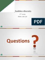 INSEA - Modèles Discrets - Ch III