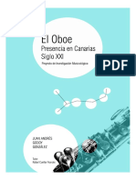 El Oboe.presencia en Canarias s. XXI 1